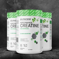 Nutricore Creatine powder 100% micronized Unflavoured
