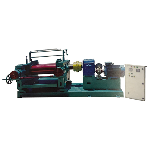 Two Roll Rubber Mixing Mill Machine