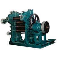 L Type 5 Rolls Calendar Machine