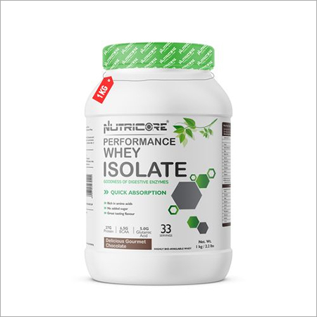 Nutricore Whey Isolate Protein (Delicious Gourmet Chocolate) 1KG