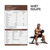 NUTRICORE ISOLATE WHEY PROTEIN (Delicious Gourmet Chocolate) 1KG