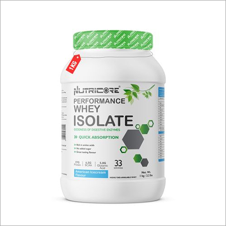 Nutricore Whey Isolate  Protein (American Icecream) 1kg