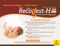 Hydroxy Progesterone 250 mg & 500 mg Injection
