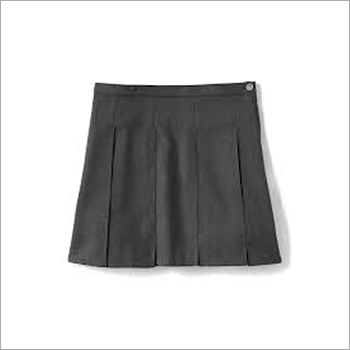 Girls Plain School Skirt