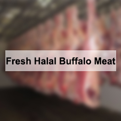 Fresh Halal Buffalo Meat
