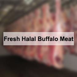 Fresh Halal Buffalo Meat