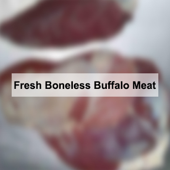 Fresh Boneless Buffalo Meat