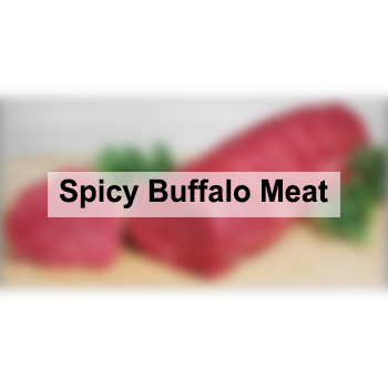 Spicy Buffalo Meat