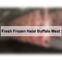 Fresh Frozen Halal Buffalo Meat