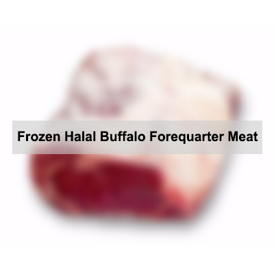 Frozen Halal Buffalo Forequarter Meat