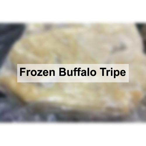 Frozen Buffalo Tripe