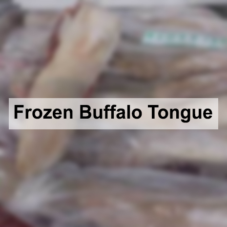 Frozen Buffalo Tongue