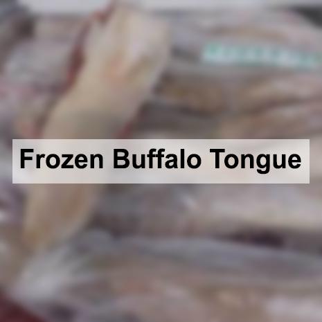 Frozen Buffalo Tongue