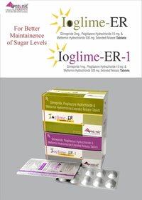 Glimepiride + Metformin + Pioglitazone