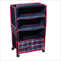Multi Purpose Plastic Open Book Shelf