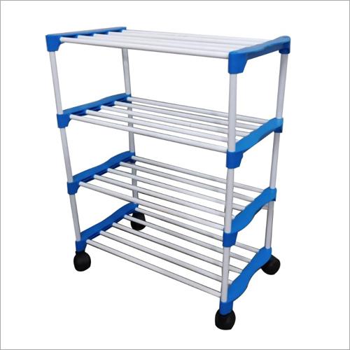 Retro Four Shelf Rack