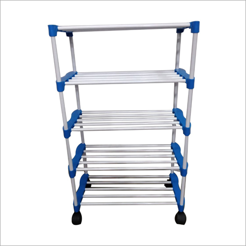 Wheel Five Shelf Rack