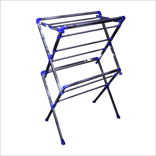 Two Fold Cloth Drying Stand