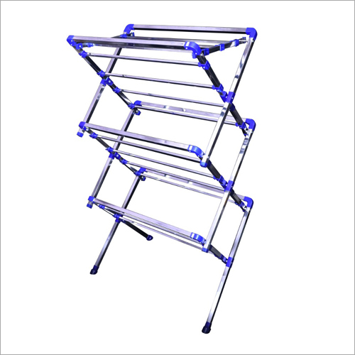 Three Fold Cloth Drying Stand
