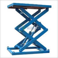 Pit Mounted Lifting Table
