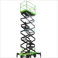 12 Meter Mobile Scissor Lift Platform