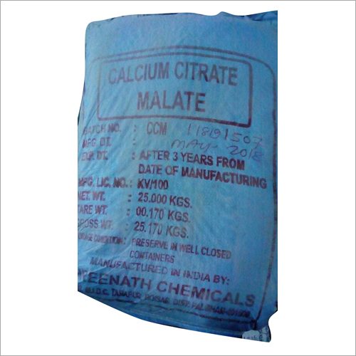 Calcium Citrate Malate