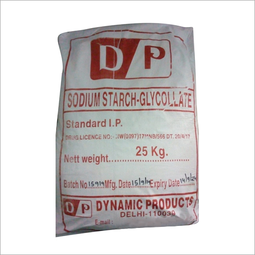 Sodium Strach Glycollate