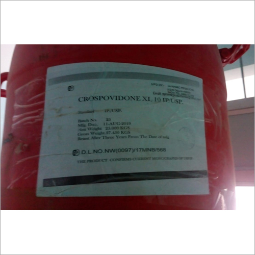 Crospovidone Xl 10 Usp