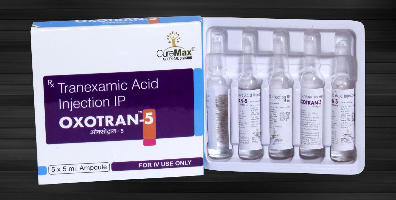 Tranexamic Acid 500 Mg Per 5 mL