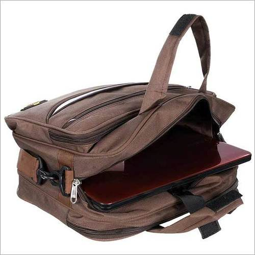 BM 001 Exlp Brown Messenger Bag