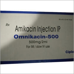 500 Mg Amikacin Injection IP