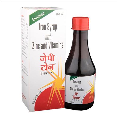 Zinc And Vitamins Iron Syrup