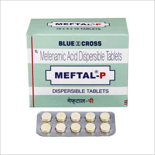 Mefenamic Acid Dispersible Tablets