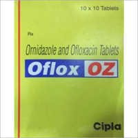 Ornidazole And Ofloxacin Tablets