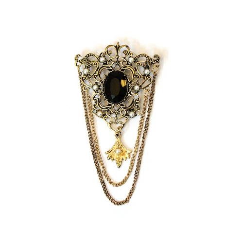 brooch chain diamond