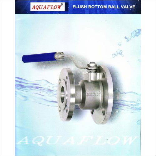 Aquaflow Flush Bottom Ball Valve Stainless Steel