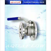 Aquaflow Flush Bottom Ball Valve Stainless Steel