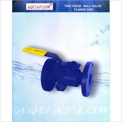 Aquaflow Two Piece Design Ball Valve Flange End Stainless Steel