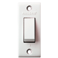 Press Fit Gold 6 Amp. 1 Way Switches
