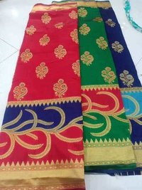 Rich pallu silk saree