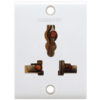 Press Fit Gold 6 Amp Electrical Sockets