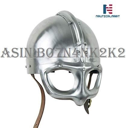 NAUTICALMART Medieval Viking Spectacle Helm - 14 Gauge Steel