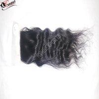 Peruvian Human Hair Bundle With Lace Closure Human