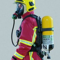MSA Airgo compact breathing apparatus