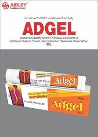 Diclofenac Diethyl Ammonium Salt 1.16% eq. to Diclofenac Sodium 1% Water soluble Gel Base q.s.
