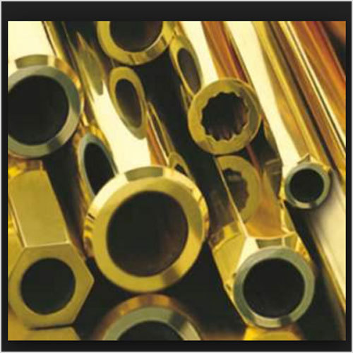 Leaded Brass Hollow Rods