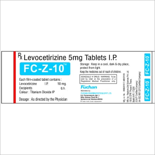 5 mg Levocetirizine Tablet IP