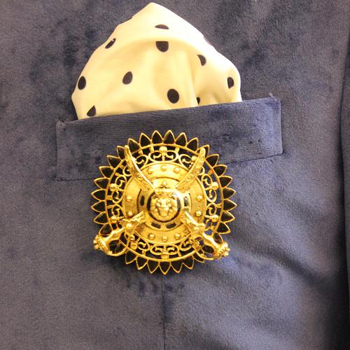 Brass Metal Brooch