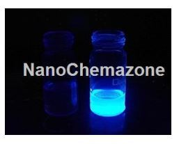 Blue Luminescent Hydrophobic Graphene Quantum Dots