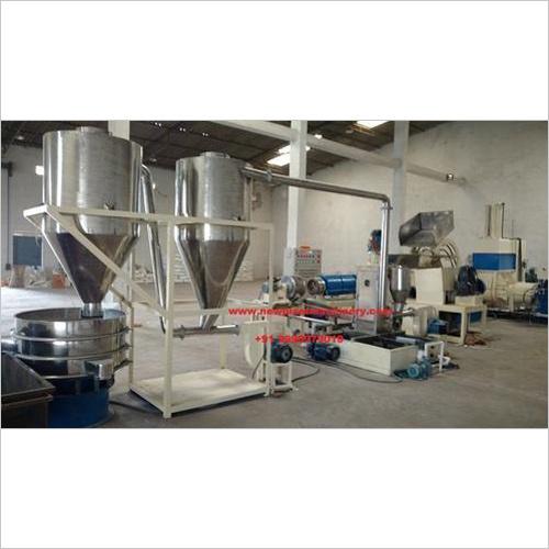 PP Raffia Granule Making Machine